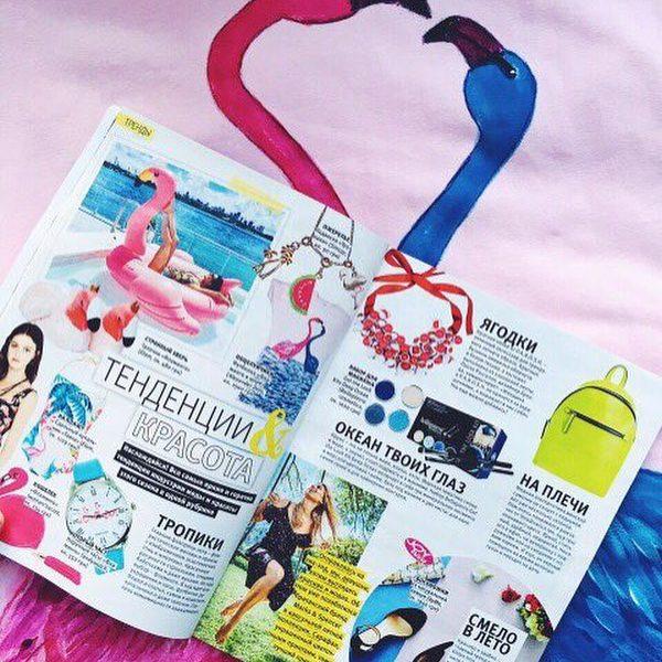 Авторские «Фламинго» от ALEXANDER DETS в журнале JOY