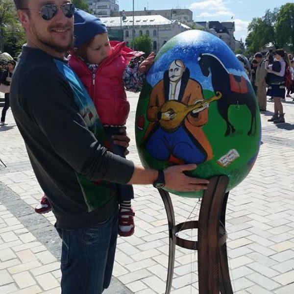 Авторская Писанка ALEXANDER DETS на Софиевской площади